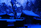 冬の角館青柳家