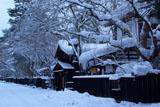 角館武家屋敷の雪の華