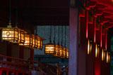 伏見稲荷大社の釣燈籠