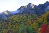 層雲峡双子岩