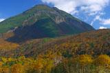 知床峠の斜里側からの羅臼岳