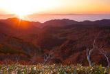 知床峠からの国後島