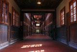 網走監獄の五翼放射状舎房