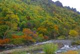 初秋の層雲峡園地