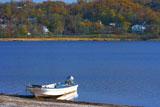 シラルトロ湖のボート