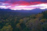 三国峠の朝焼け