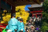 在りし日の鶴岡八幡宮