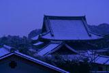 光雲寺 雪化粧の仏殿