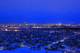 旭川市の夜景