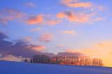 マイルドセブンの丘の夕焼け