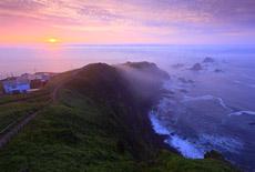 襟裳岬の霧