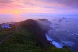 襟裳岬の海霧