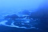 霧に覆われて