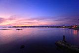 鎌倉和賀江島 トワイライト材木座海岸