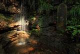 称名寺 女滝の虹