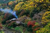 京都八瀬 紅葉の平八茶屋