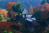 善峯寺の開山堂と幸福地蔵堂