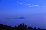 金蔵寺からの比叡山