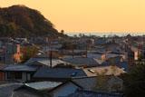 鎌倉 夕照の大町材木座