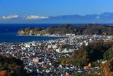 鎌倉 衣張山からの江の島と箱根