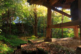 鎌倉妙法寺 鐘楼と法華堂