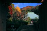 浄妙寺山門から