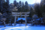京都山国神社の鳥居