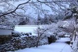 大原 雪景色の実光院と勝林院