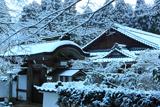 浄蓮華院 雪景色