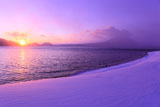 支笏湖と風不死岳
