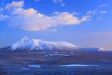 霧氷林と駒ヶ岳