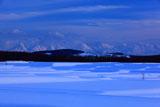 東神楽からの十勝岳連峰