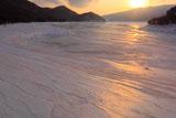 かなやま湖 氷の造形