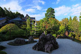京都正法寺 本堂前庭