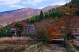京都久多 紅葉の宮の町