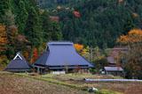 京都久多 宮の町の民家