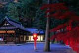 吉田神社 本宮拝殿と神楽殿