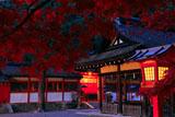 京都吉田神社 本宮の紅葉
