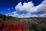 京都法輪寺 紅葉の見晴台から