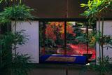 妙心寺大法院の坪庭越しの書院庭園