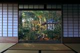 滝口寺 本堂から紅葉と小松堂
