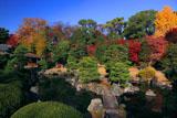 二条城清流園の紅葉