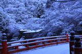 雪の高雄橋