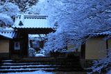 雪の神護寺本坊