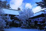 雪の西明寺本堂