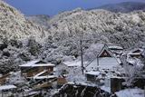 梅ケ畑 雪景色の槙ノ尾
