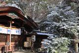 梨木神社 淡雪の本殿