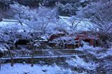 清水寺 雪の釈迦堂と阿弥陀堂