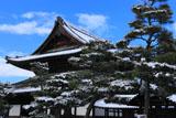 建仁寺 雪化粧の法堂