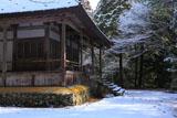 九品寺 雪化粧の観音堂